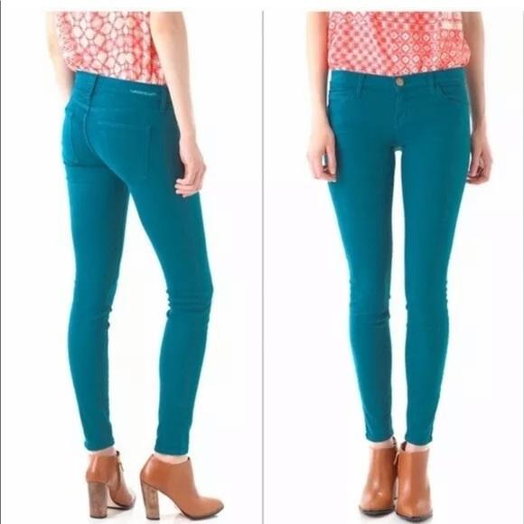 Current/Elliott Denim - Current/Elliott ankle skinny jeans in Blue Canteen